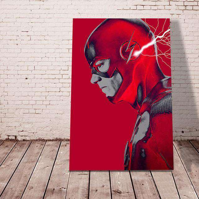 The Flash - Paint by Numbers Kits for Adults DIY