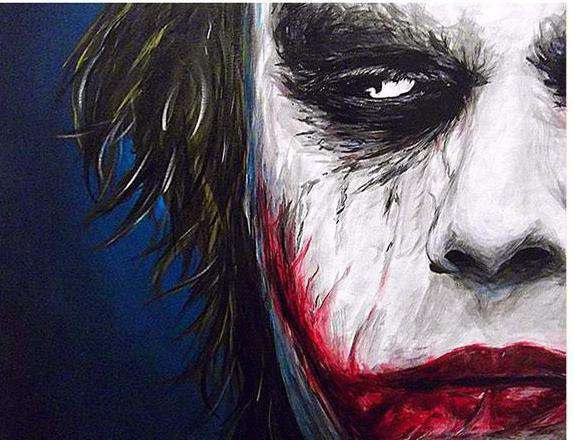 The Joker - Paint by Numbers Kits for Adults DIY - Paint by Numbers for Adults