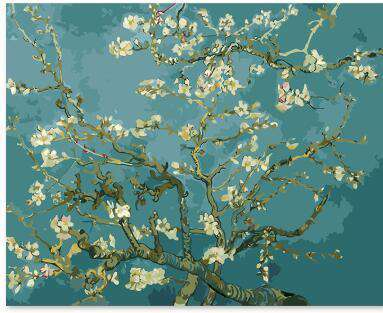 Van Gogh Almond Blossoms - Paint by Numbers Kits for Adults DIY - Paint by Numbers for Adults