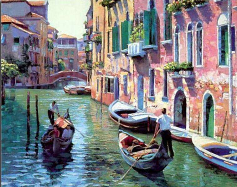 Venice Tour - Paint by Numbers Kits for Adults DIY