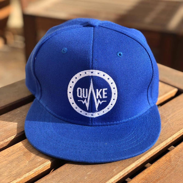 Q01 - Blue - men's hats - Quake Sportswear Qatar