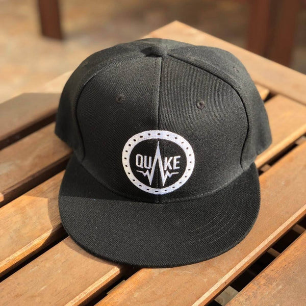 Q01 - Black - men's hats - Quake Sportswear Qatar