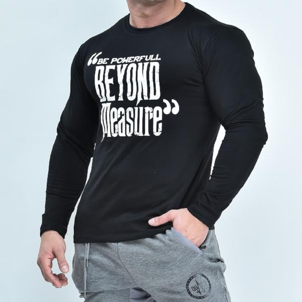 The Quake Inspo Long Sleeve - Black - long sleeves - Quake Sportswear Qatar