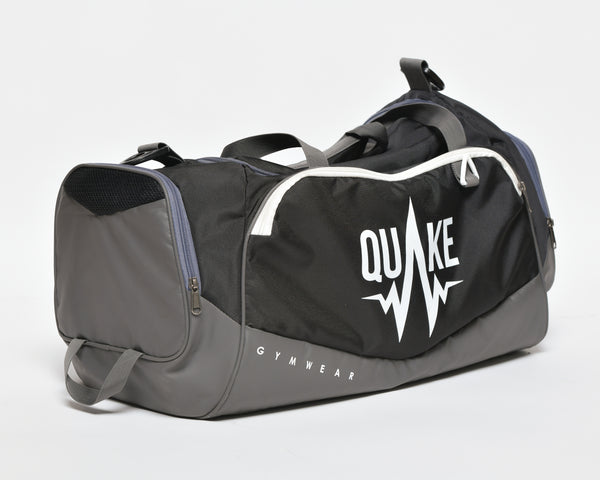 Medium Gym Bag - Black - bag - Quake Sportswear Qatar