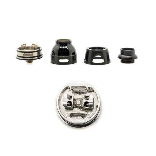 Asmodus Galatek RDA 24mm Components and Build Deck