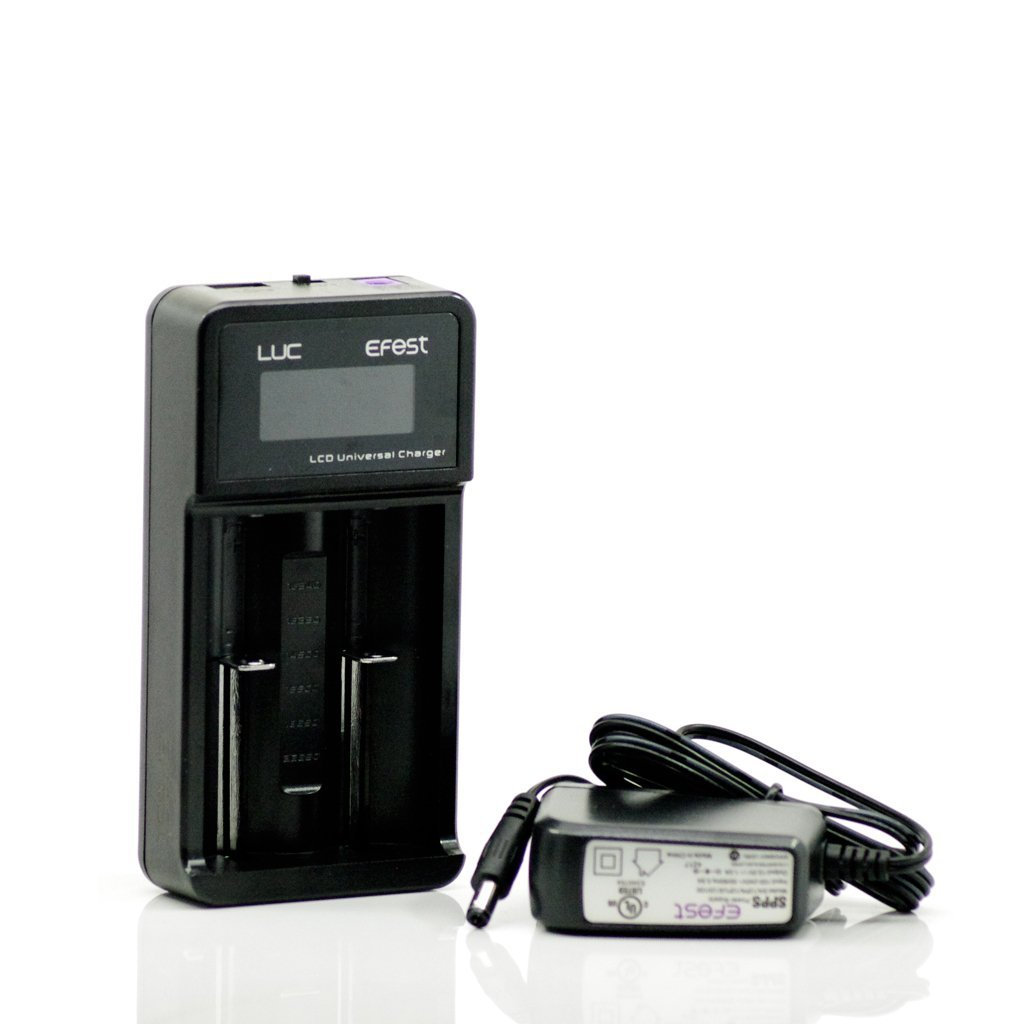 Efest LUC V2 Battery Charger at Eightvape