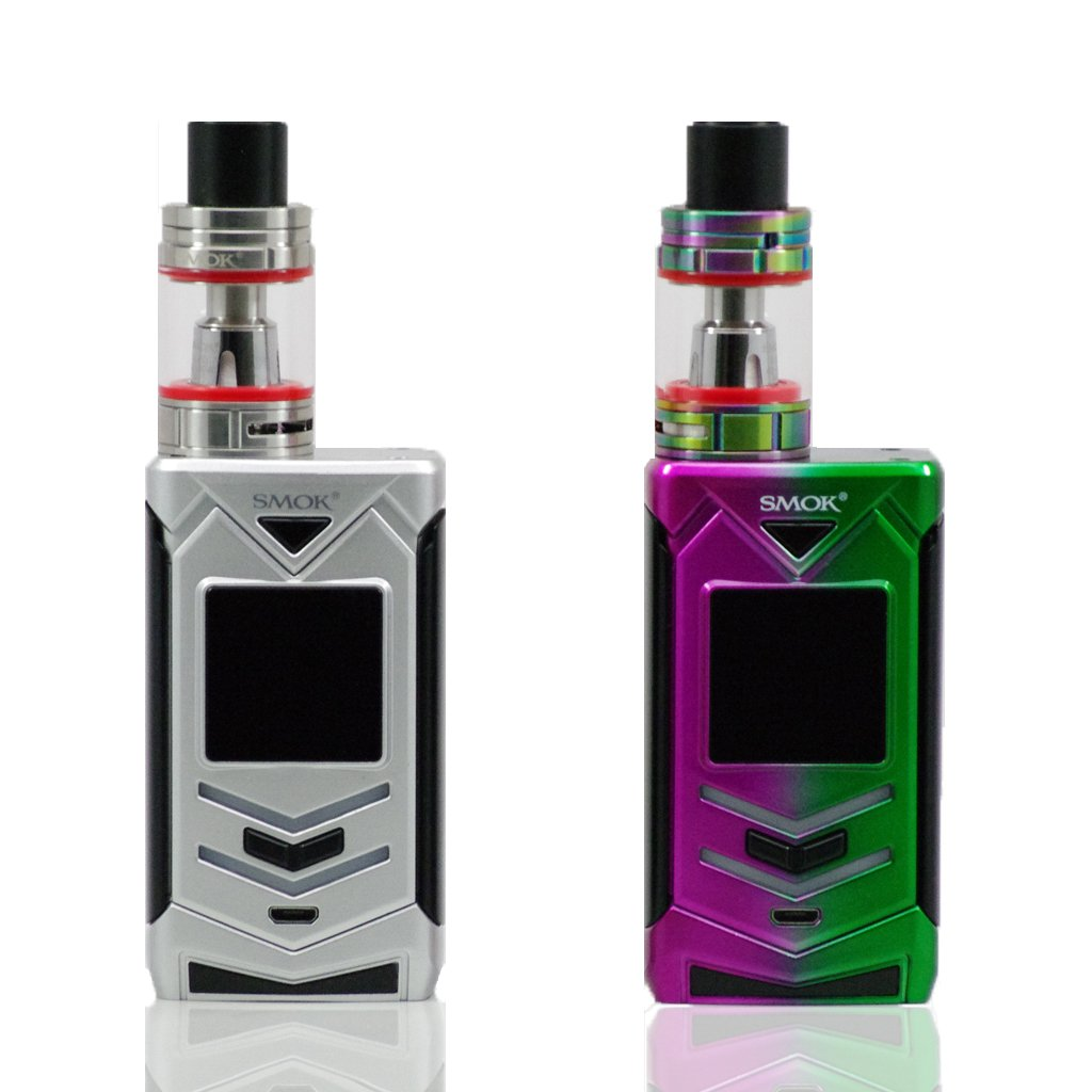 SMOK Veneno 225W TC Starter Kit in Silver and Rainbow