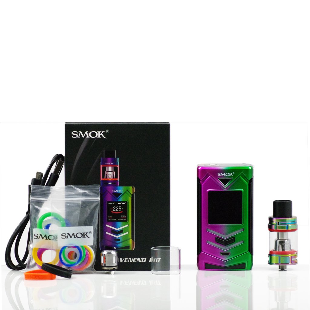 SMOK Veneno 225W TC Starter Kit Featuring TFV8 Big Baby Light Edition