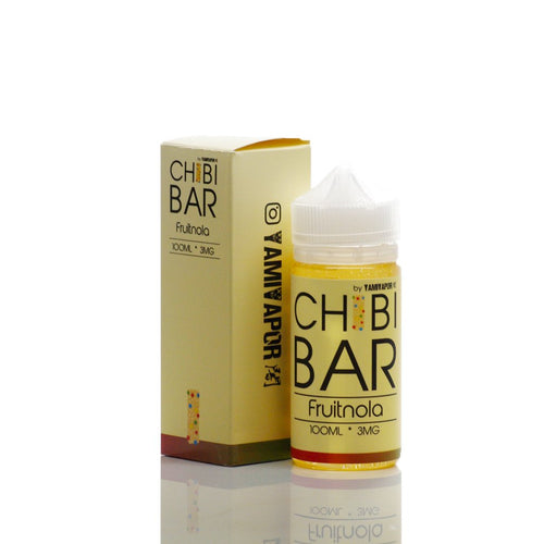 Yami Vapor Chibi Bar Eliquid Fruitnola 100ml