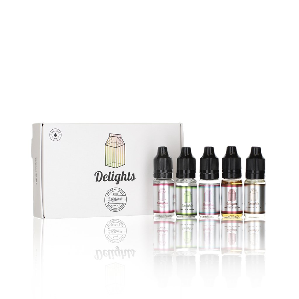 The Milkman Delights Sample Pack 5x10ml Vape Juice