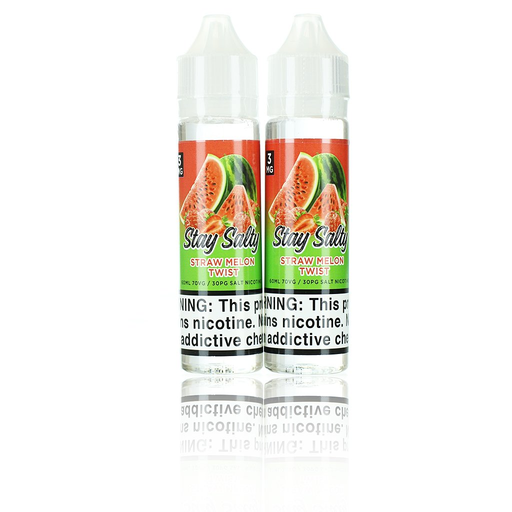 Stay Salty Straw Melon Twist 120ml Vape Juice