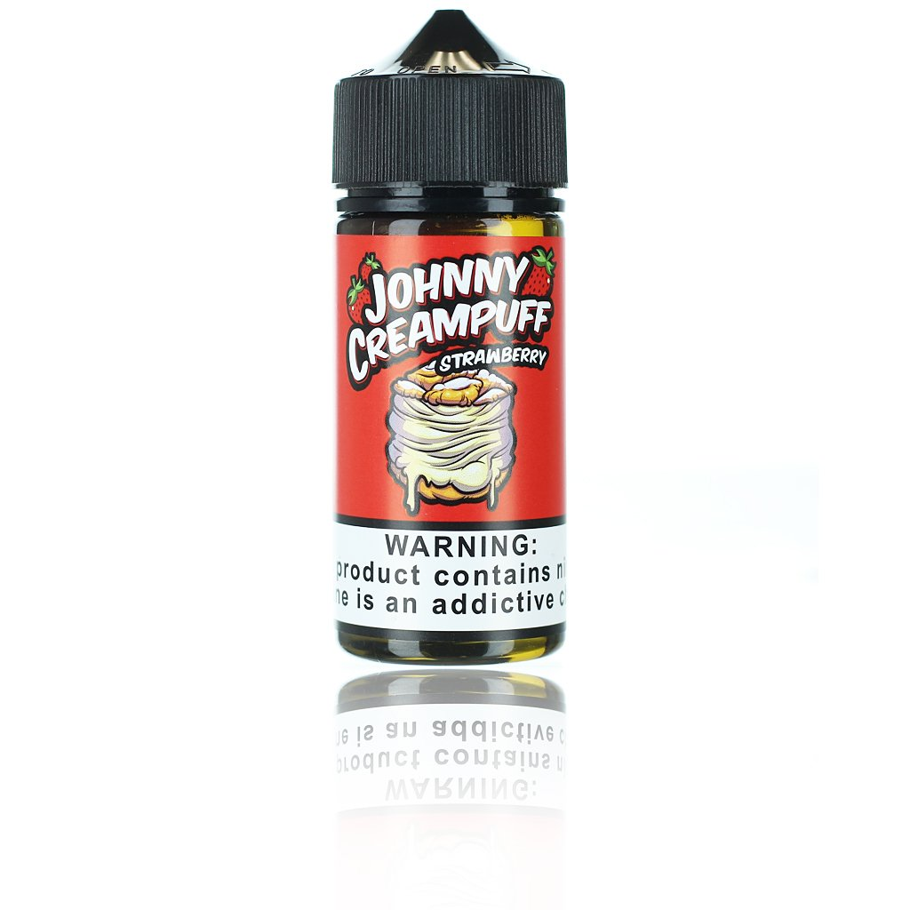 Johnny Creampuff Strawberry 100ml Vape Juice