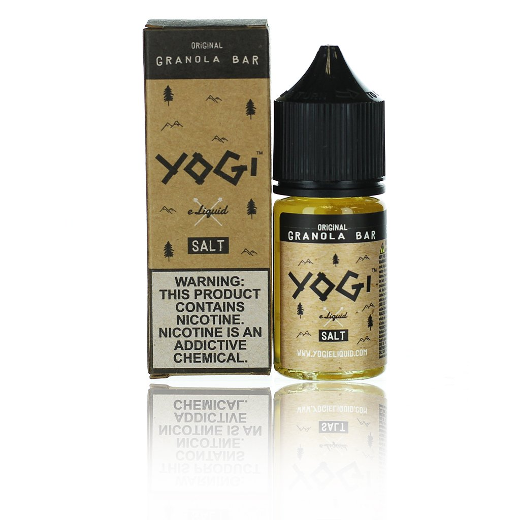 Yogi Salts Original Granola 30ml Nic Salt Vape Juice