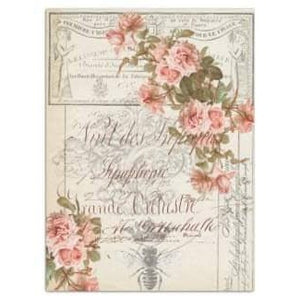 Roycycled Decoupage Tissue Paper – Floral Ephemera