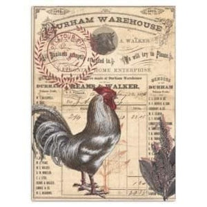 Roycycled Decoupage Tissue Paper – Rooster