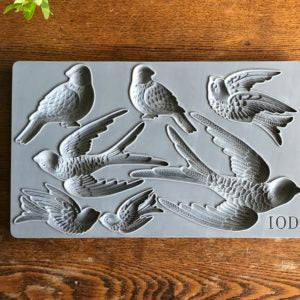 Birdsong IOD Decor Moulds