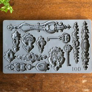 Lock & Key IOD Decor Moulds
