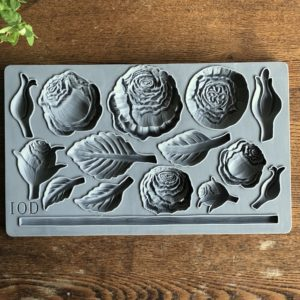 Heirloom Roses IOD Decor Moulds