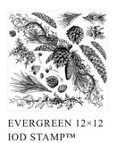 IOD Evergreen Stamp