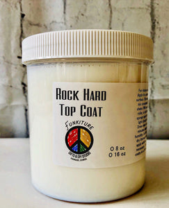 Rock Hard Top Coat | 8 oz