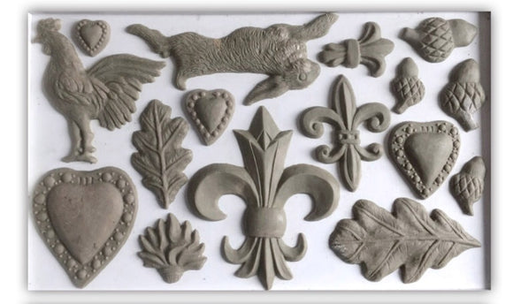 Fleur De Lis | IOD | Decor Mould