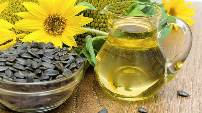 forms of sunflower oil