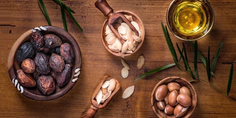 using argan oil