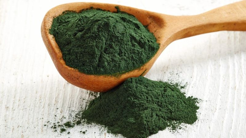 using spirulina