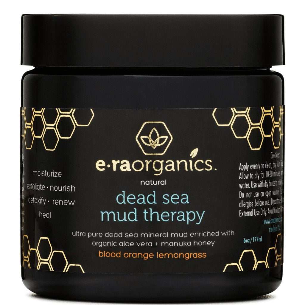Natural Dead Sea Mud and Kaolin Clay Facial Mask
