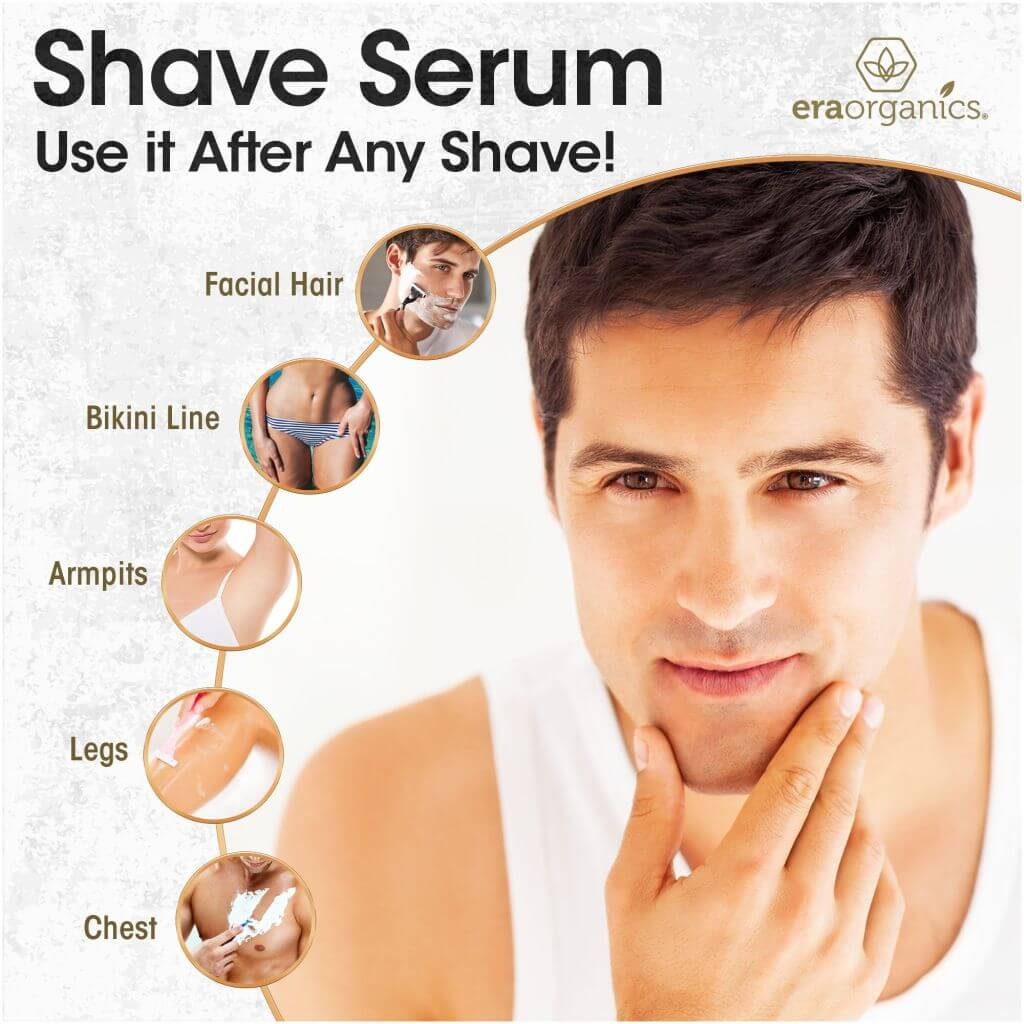 Aftershave Serum for Razor Bumps And Ingrown Hairs