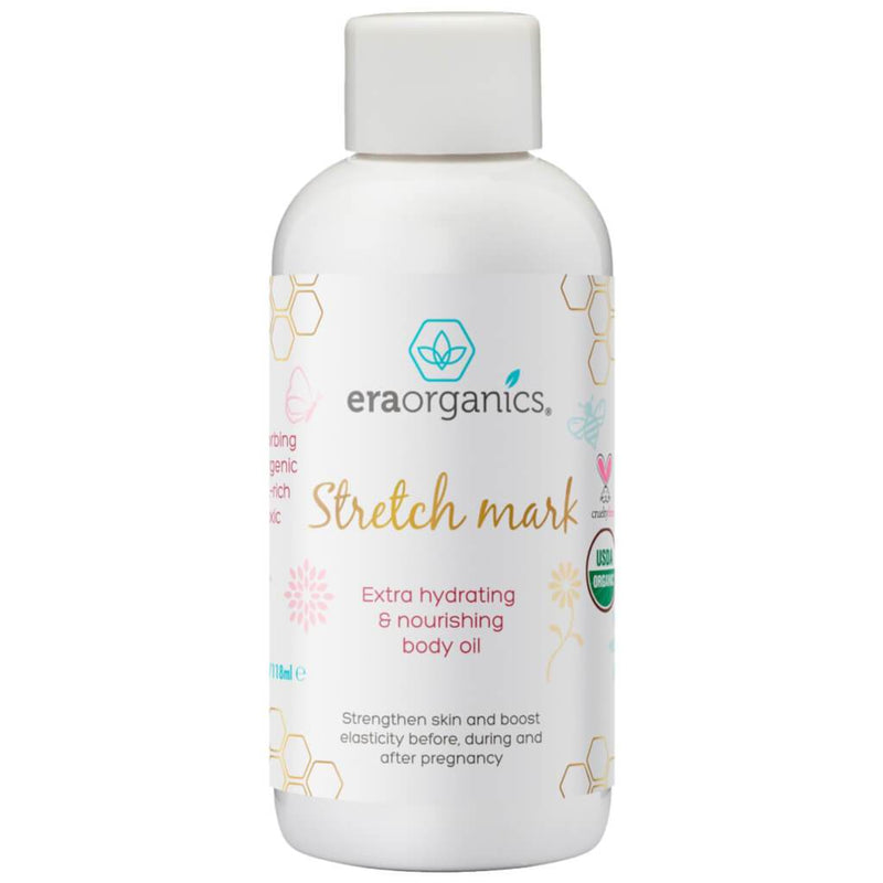 Organic stretch mark oil