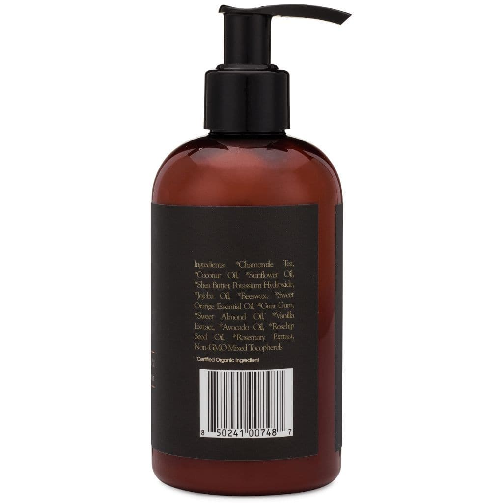 mens face wash organic ingredients