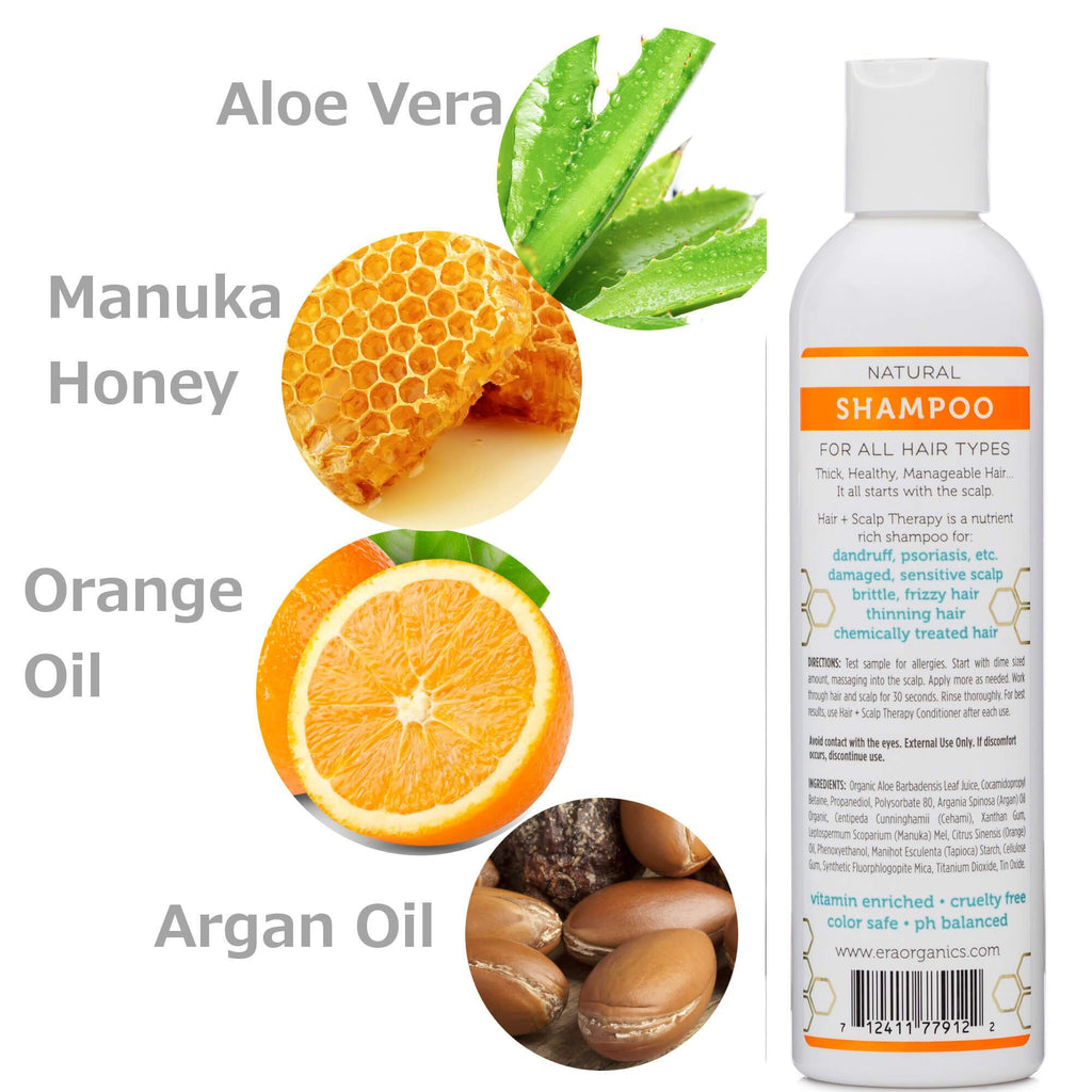 Natural Sulfate Free Shampoo ingredients