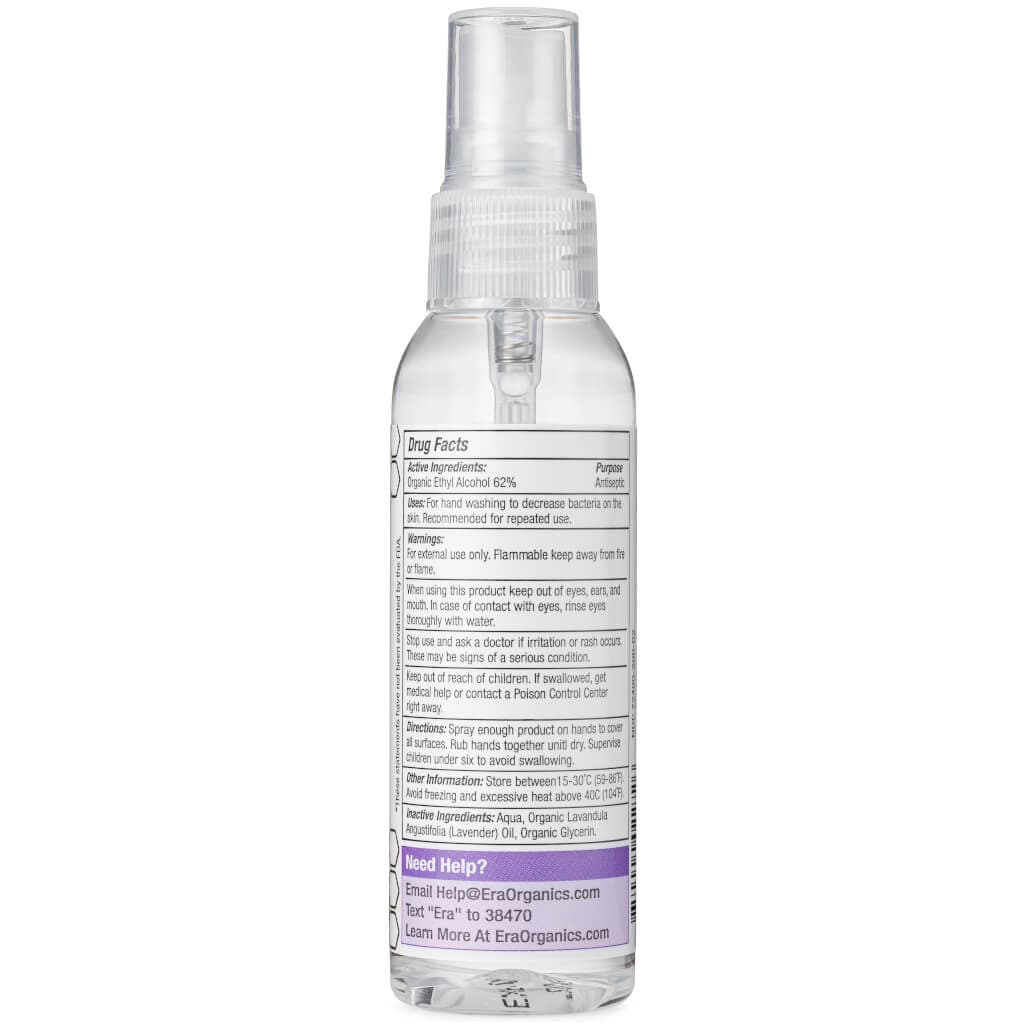 organic hand sanitizer spray ingredients