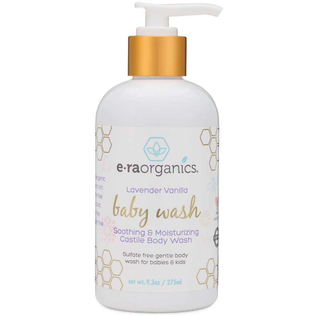 Organic Sulfate-Free Castile Baby Wash