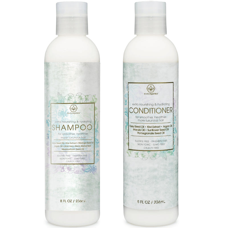 Premium Natural Shampoo and Conditioner for Deep Hydration