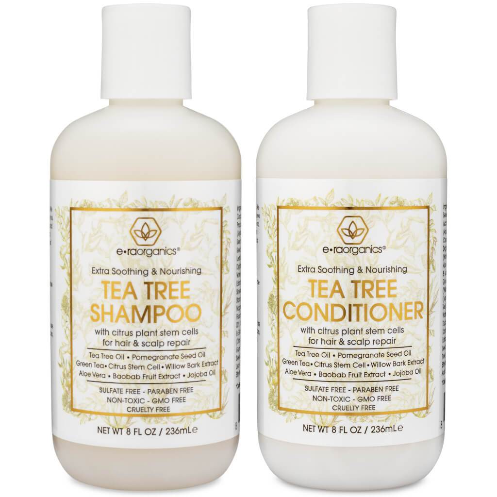 Tea Tree Oil Shampoo and Conditioner with Plant Stem Cell Technology