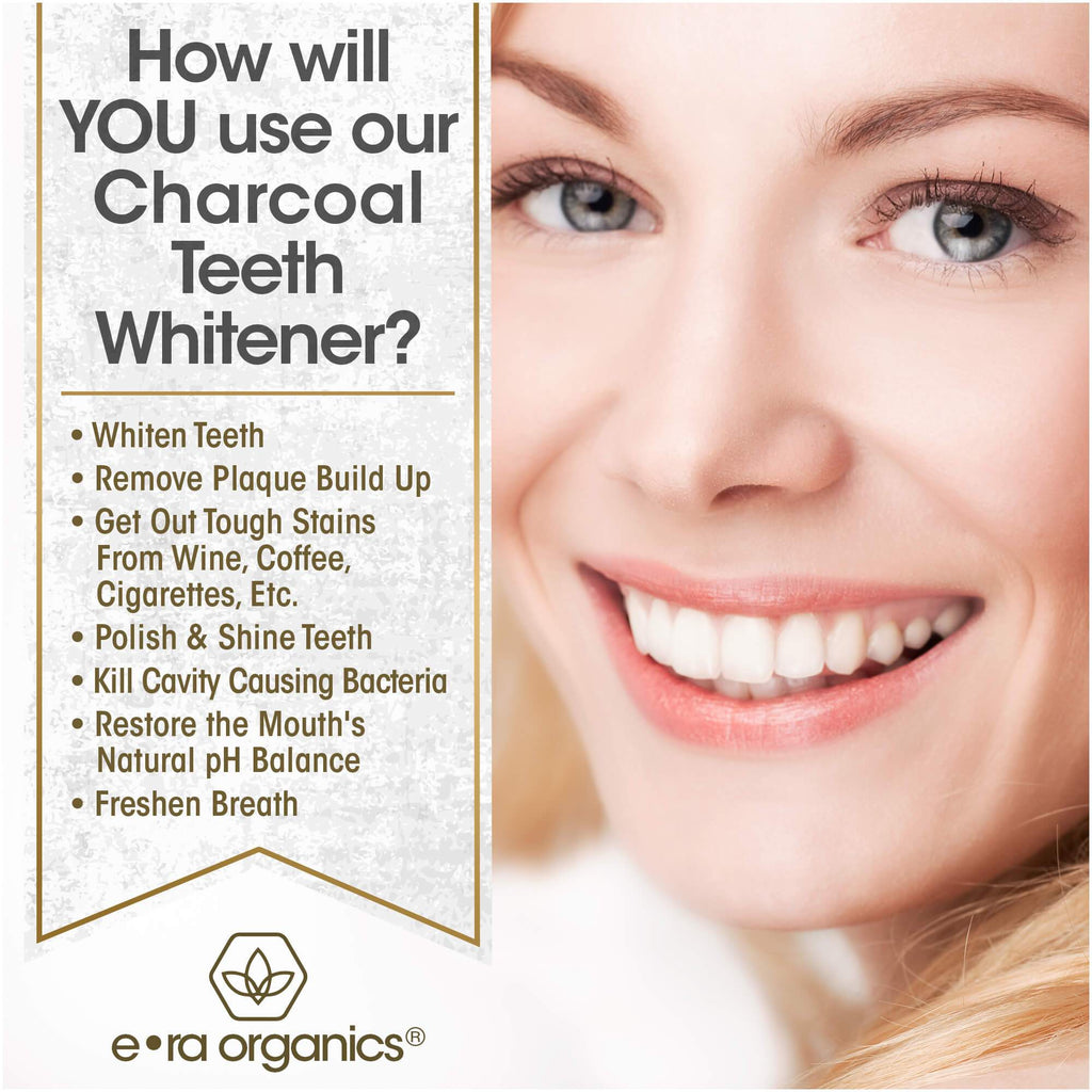 uses of charcoal teeth whitener