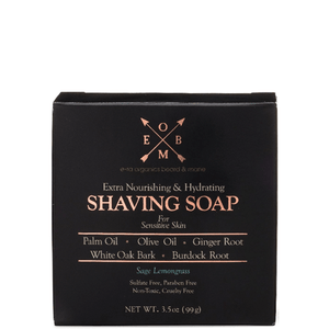 natural and organic shave soap