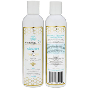 Cleanse + Restore Natural Face and Body Wash
