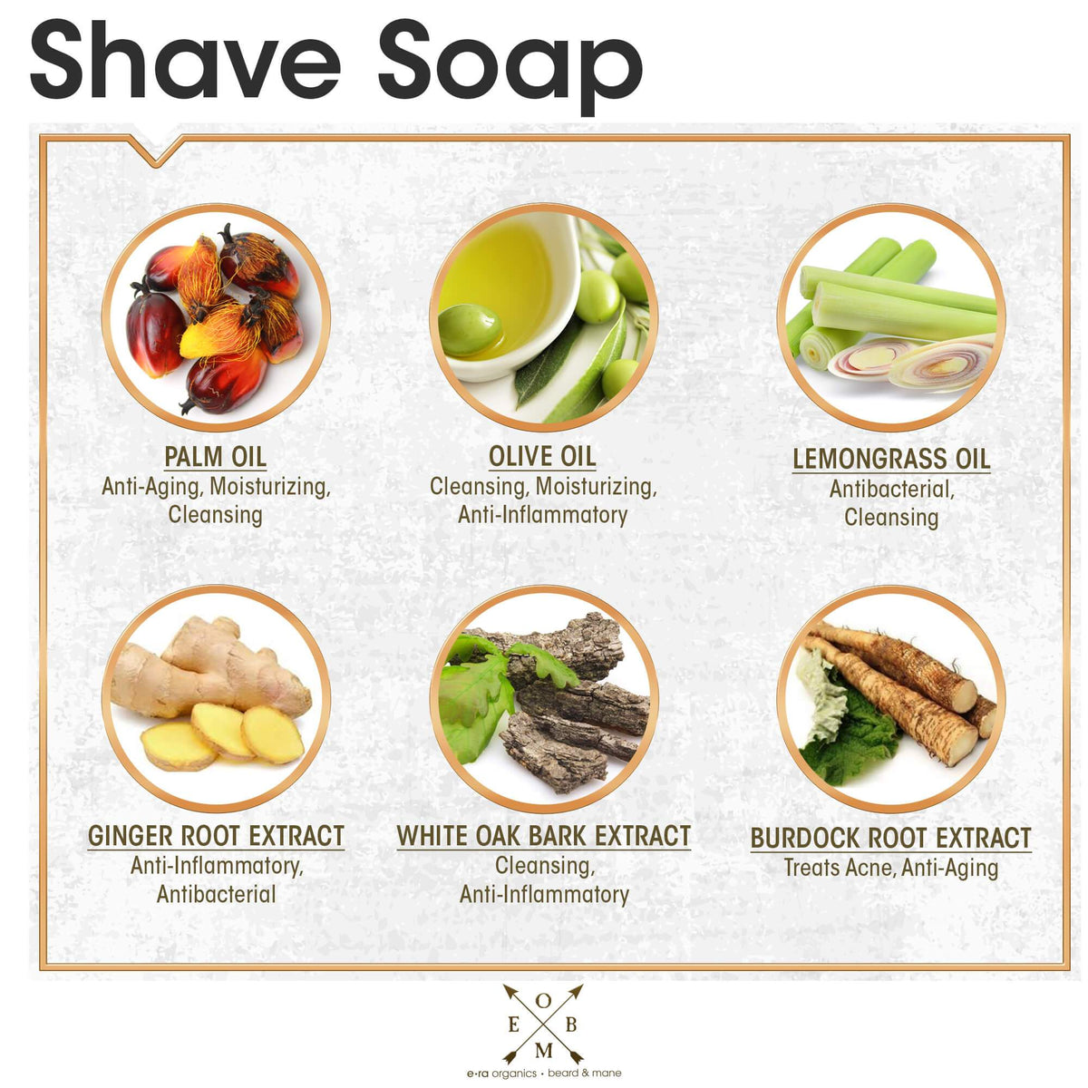 natural shave soap ingredients