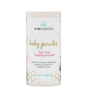 organic baby powder with ingredients