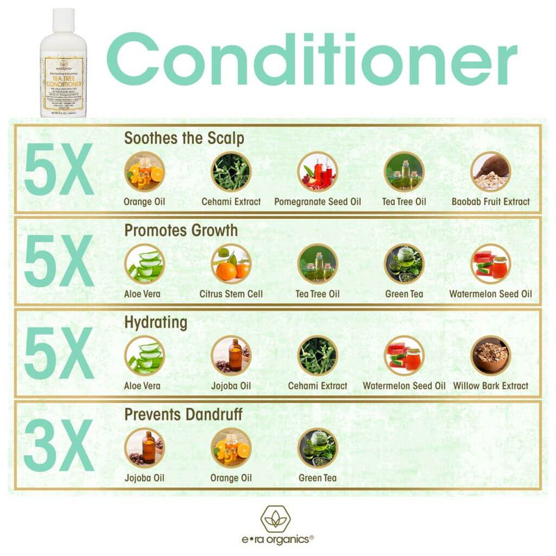 tea tree oil conditioner ingredient benefits