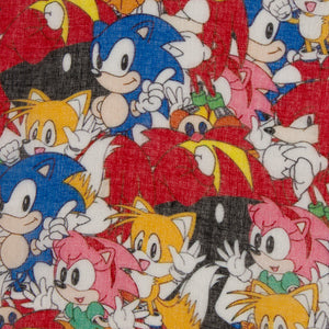 Sonic The Hedgehog Sonic Characters Lightweight Infinity Scarf Pop Rocks Entertainment