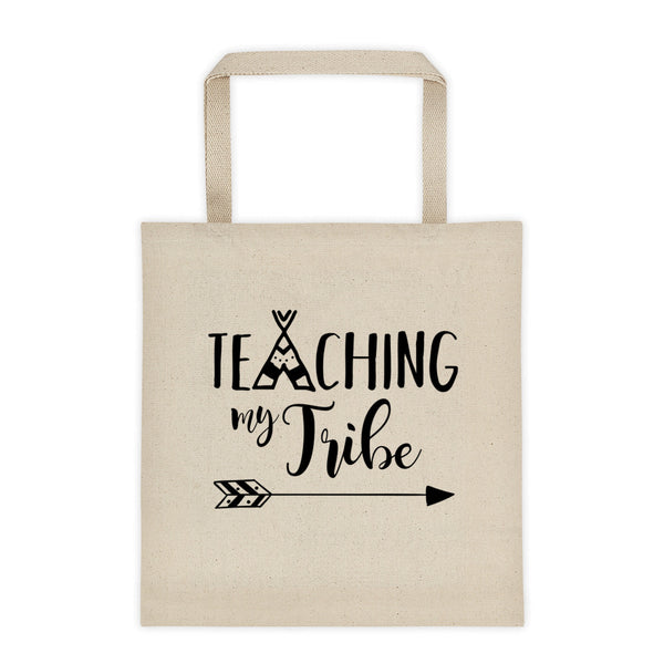 Teaching My Tribe Tote Bag