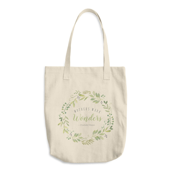 Mothers Work Wonders Cotton Tote Bag