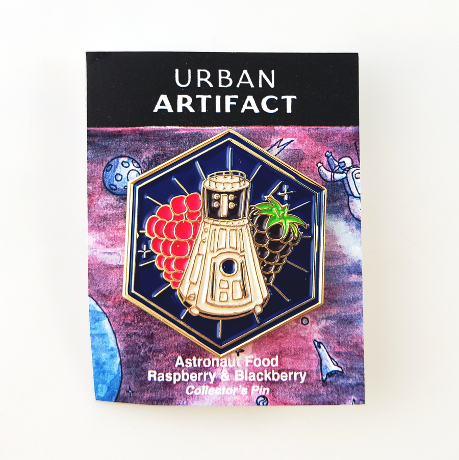 Limited Edition Astronaut Food Enamel Pin