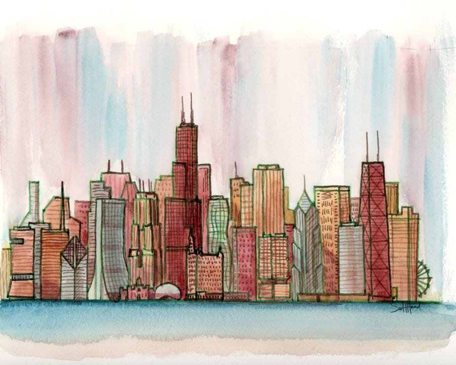 Chicago Relish Pickle art print