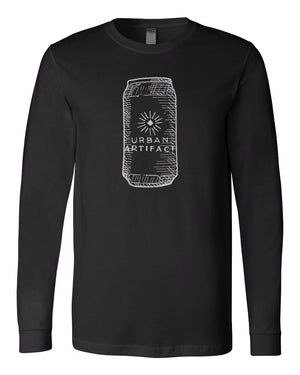 Beer Can Long Sleeve Tee