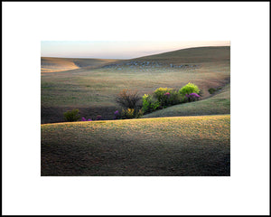 mark feiden matted photograph flint hills heavenly lights